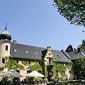 zamek Kliczków - dziedziniec #architektura #Kliczków #majówka #zabytki #zamek