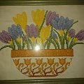 kwiatki #HaftKrzyzykowy