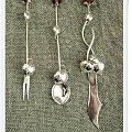 srebrne sztućce #bursztyn #imieniny #kobieta #prezent #róża #SrebrneSztućce #srebro #sztućce #upominek #urodziny