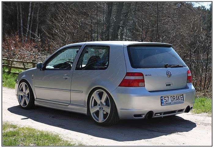 vw golf mk4 iv r32 3 door body kit ebay. Black Bedroom Furniture Sets. Home Design Ideas
