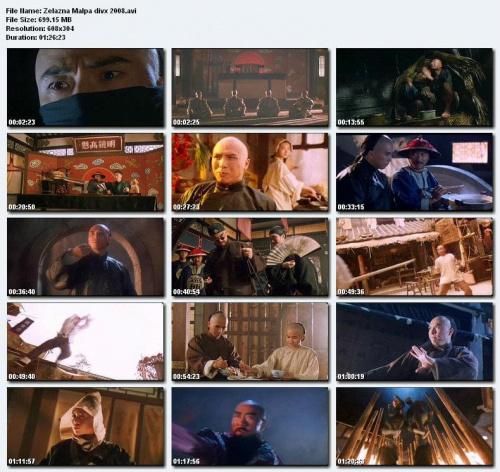 ¯elazna Ma³pa / Siunin Wong Fei-hung Tsi Titmalau / Iron Monkey (1993) DVDRip. DivX. Napisy POLSKIE