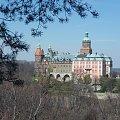 Wiosenne pozdrowienia z zamku Książ :) #książ #park #wiosna #zamek