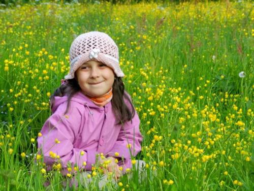Kwiatuszek na łące:)