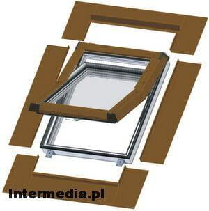 skylight premium dachfenster kunststoff 94x118 eindeckrahmen ebay. Black Bedroom Furniture Sets. Home Design Ideas