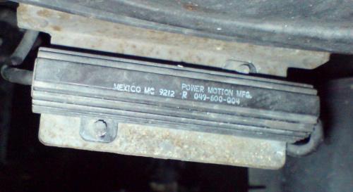 BMW E36 Rezystor wentylatora klimatyzacji