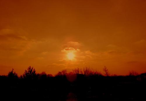 o zachodzie #chmury #niebo #ZachodSlonce