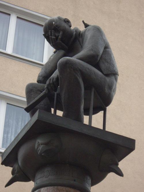 Facet się trochę załamał.Frankfurt n/O #FrankfurtNadOdrą