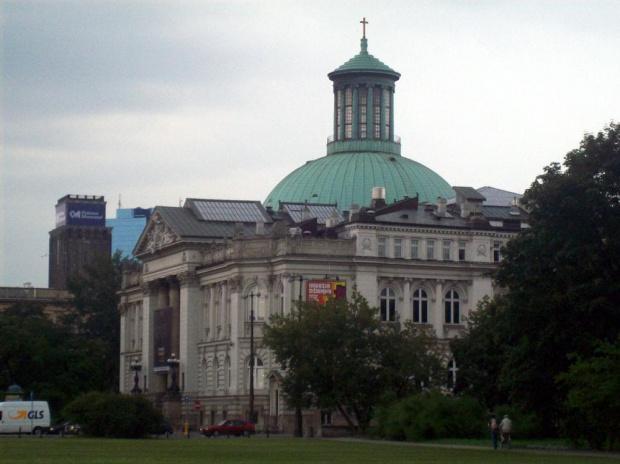 Warszawa-Zachęta #Warszawa #budynek #zabytek #widok