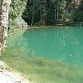 błękitne jeziorko w Wieściszowicach #KoloroweJeziorka #RudawyJanowickie #Wieściszowice
