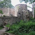 Zamek Bolczów-Rudawy Janowickie #Góry #rower #RudawyJanowickie #zamek #zamki #JanowiceWielkie #Bolczów #ZamekBolczów