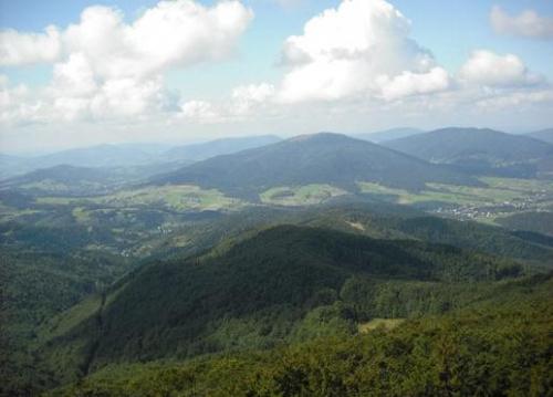#góry #beskid #wyspowy #pejzaż #panorama