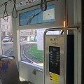 """""""Mini golf"""", podświetlTporęcz, biletomat #Bombardier #NGT8 #MPKKraków #tramwaj"""