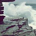 Siła fali #morze #fala #klif