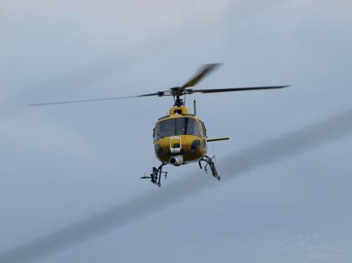 Helikopter, Tour de Pologne, Białystok [Olympus E-410, Zuiko Digital Tele 70-300] #helikopter #chopper #wyścig #Białystok #eurosport #TourDePologne #tele
