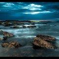 pochmurny wschod #chmury #ocean #poranek #przyroda #woda #WschódSłońca