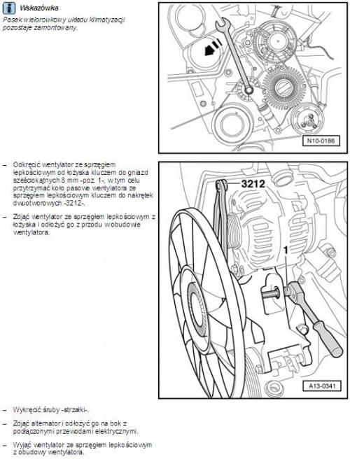 audi a4 b6  wymiana wentylatora klimatyzacji