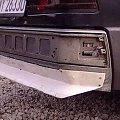 Mercedes benz w201 190 tuning, początek budowy dokładki, spoilera tylnego zderzaka w show car tuning-zone.eu #auto #autodesign #benz #bil #blenda #car #daszek #dokładka #lotka #mercedes #montaż #ocena #progi #progowe #show #skrzydło #spoiler