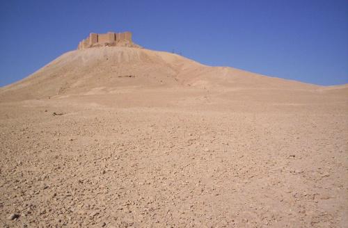 Syria Tadmur zamek