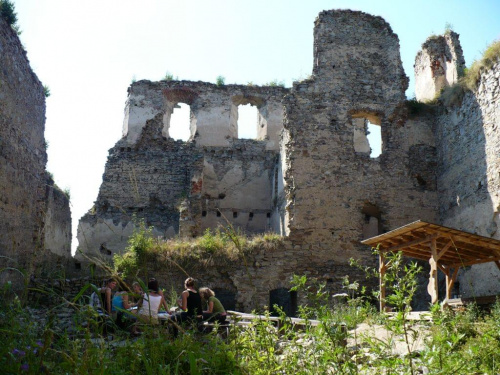 Divci Kamen -ruiny zakmu #ruiny #zabytek