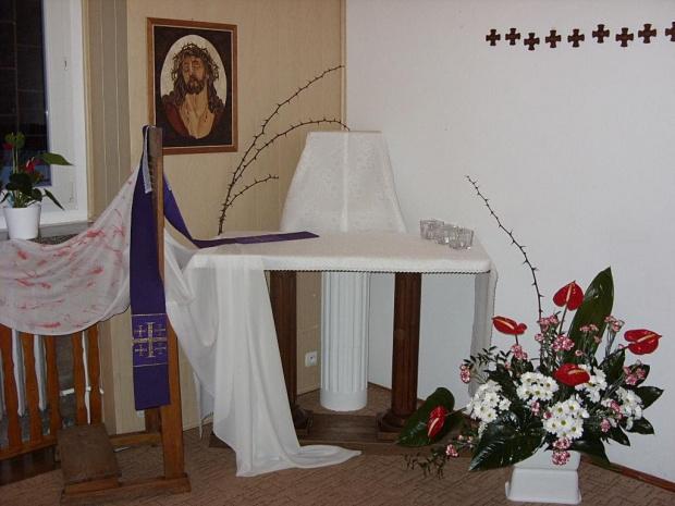 2013 Triduum Paschalne w kaplicy sióstr Urszulanek SJK w Sokolnikach Wielkich #GminaKaźmierz #GróbPański #pascha #SokolnikiWielkie #triduum #Urszulanki
