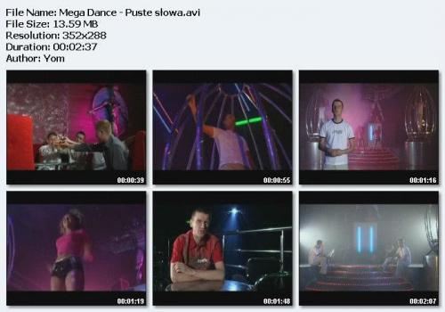 Mega Dance - Puste S³owa (2005)