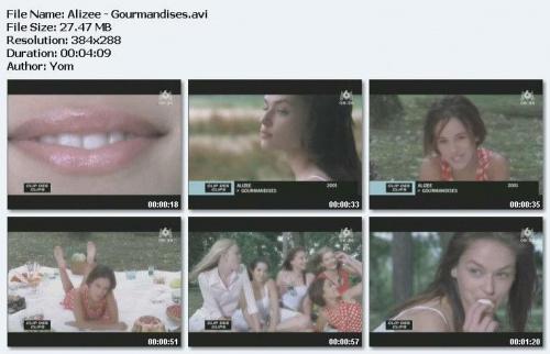 Alizee - Gourmandises (2001)