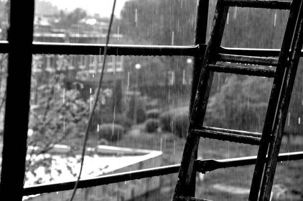 #CzarnoBiałe #artystyczne #deszcz