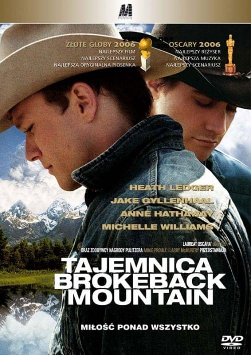 Tajemnica Brokeback Mountain / Brokeback Mountain (2005) DVDRip PL