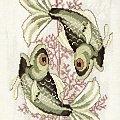 Ryby #HaftKrzyzykowy #ZnakiZodiaku #ryby