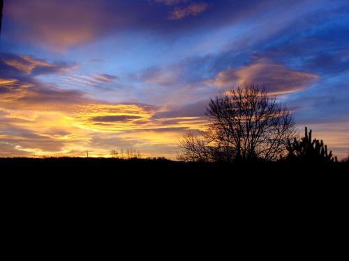 wschód słońca.. piękny..