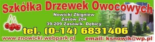 Szkółka drzewek Owocowych-sklep internetowyNOWICKI
