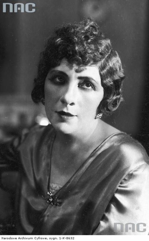 Janina Mirska, aktorka ( ur. 30 maja 1888 r. w Warszawie, zm. 1945 r. )_1910-1939 r.