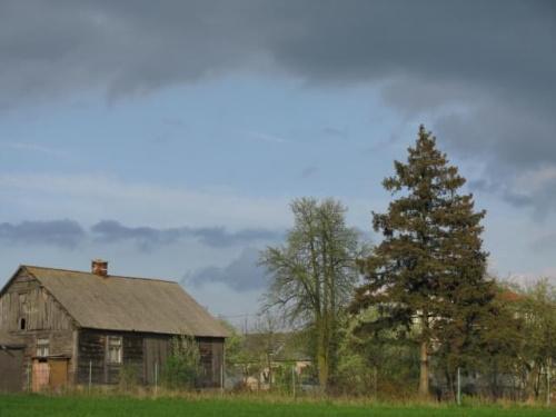 Wieś #wieś #dom #widok