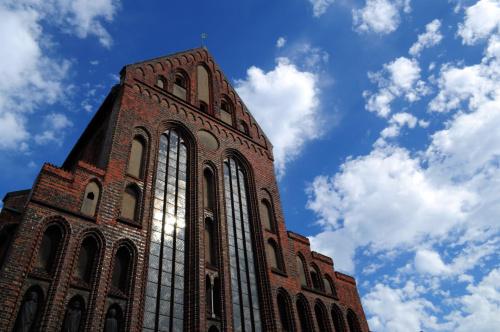 Jeden z Kosciolow w Lübeck
