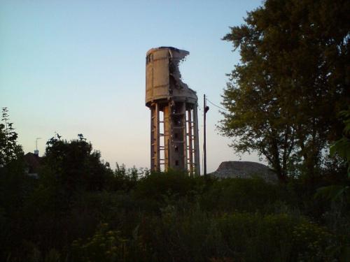 Niestety wieża jest rozbierana... #WieżaCiśnień #tomaszów