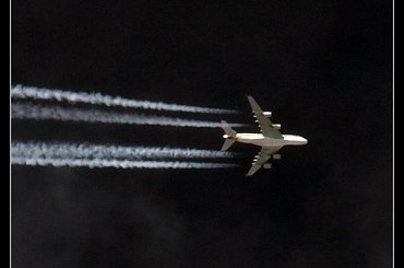 Spotting - fotografia samolotów pasażerskich na niebie