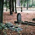 cmentarz ewangelicki koło Krzyży #mazury #cmentarz #Krzyże
