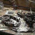 Po rozpołowieniu :) #Jawa #Jawka #Ogar #PRL #motór #motory #motorower #silnik #kartery #wał #korbowód #dekle #sprzęgło