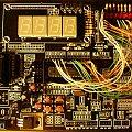 #atmega8 #diody #led #rezystor #zl2avr #segmentowe #rs232 #mikroprzełączniki #kabelki