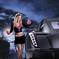 #kobieta #samochód #kusicielka #diabeł #bryka #auto #dziewczyna #laska #noc #okazja