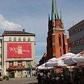 w zeszłym roku obchodziliśmy 900-lecie miasta może dodam kilka fotek z przejazdu Sobieskiego co wy na to... #miasto #Racibórz #kościół