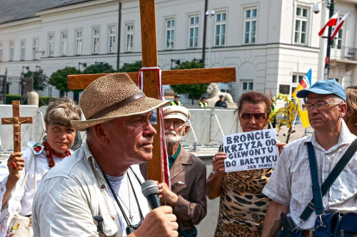 Krakowskie Przedmieście - Pałac Prezydencki - obrona krzyża #KrakowskiePrzedmieście #ObronaKrzyża