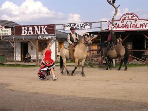 WESTERN CITY - Dziki Zachód po polsku :-) #WesternCity #Karpacz