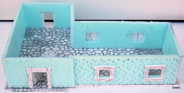 Makieta Budynek do gry Mordheim #makieta #budynek #mordheim #warheim #wfb #warhammer #izwor