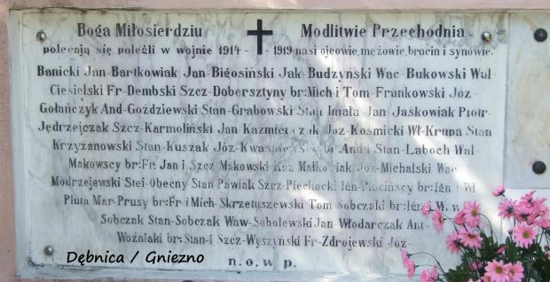 Polegili za Polskę Dębnica / Gniezno
