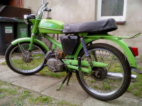Mój Romet 50 T-1 z 1979 roku #MotorowerRomet50