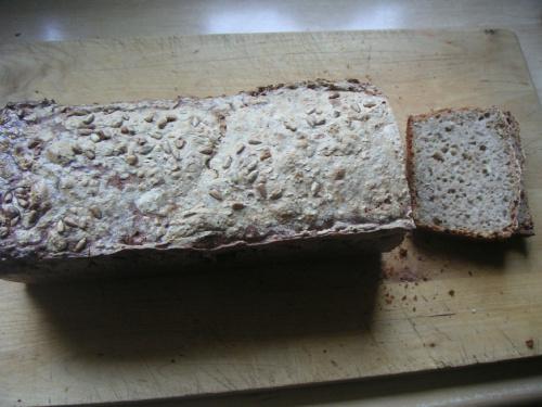 Chleb z ziarnami na zakwasie