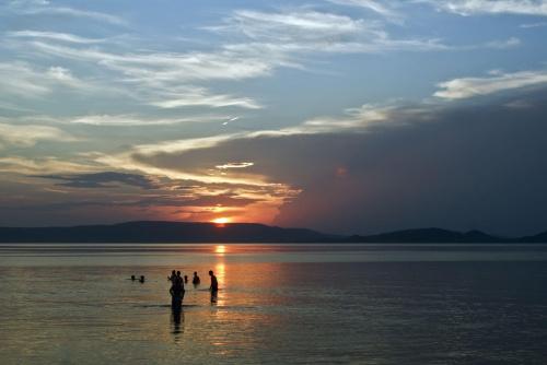Zachód słońca - Balaton